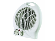 Optimus Heater Fan Portable with Thermostat - White - H1322