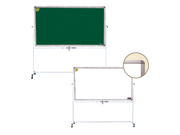 Luxor MB3624 Reversible White Finish Board and Chalk Board