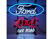 Neonetics 5F4X4X FORD 4 X 4 OFF ROAD NEON SIGN