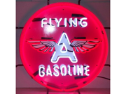 Neonetics 5GSFLY FLYING A GASOLINE NEON SIGN