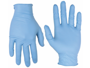 Custom Leathercraft 2320M 100 Count Medium Nitrile Disposable Gloves