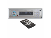SOUND AROUND-LANZAR AUDIO AQCD60BTS AM-FM Marine In-Dash Fold Down Detachable Face Radio