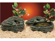 "Penn Plax REP622 10"" Large Reptology Reptile Herp Haven Cave Hide-A-Way Home"