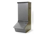 Miller Mfg Co Inc Single Door Hog Feeder- Gray 50 PounHGFS