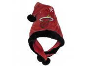 Forever Collectibles 152541 NBA - Thematic Headwear Santa Hat - Miami Heat