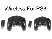 2 pack of 2.4 Ghz Wireless Controller for Sony Playstation 3-Third Party
