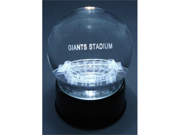 Sports Collectors Guild GiantsLES Giants Stadium Etched In Crystal Globe With Lighted Musical Base