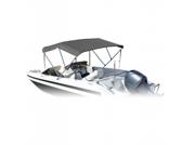 Image of Eevelle SS-543B60G Summerset Bimini Boat Top - Grey
