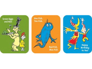 Eureka EU-650022 Stickers Dr Seuss Favorite Books