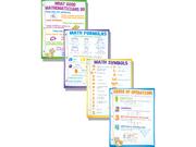 Mcdonald Publishing Mc-P130 Math Basics Poster Set 9SIA11U1MZ8860