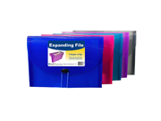 C-Line Products Inc CLI58300 C Line Expanding File 7 Pocket 6 Tab