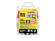 Super Glue Corp. 15187 Super Glue Multi Pack- Pack of 6