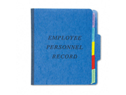 Esselte Pendaflex SER1BL Vertical Personnel Folders-  1/3 Cut-  Top Tab-  Letter-  Blue