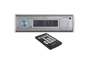 Lanzar AQCD60BTS AM-FM Marine In-Dash Fold Down Detachable Face Radio with CD-MP3-USB-SD-AUX Input with Bluetooth Wireless Technology