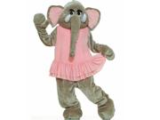 Forum Novelties Inc 33742 Elephant Plush Economy Mascot Adult Costume Size One-Size