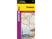 National Geographic Maps AD00003313 France Adventure Map