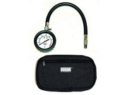 """VIAIR 90073 2.5"""" Tire Gauge with Hose (0 to 100 PSI - Storage Pouch)"""