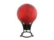 Achla G12-RD-C Gazing Ball 12 in. Red Crackle