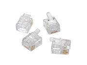 Platinum Tools 180 0599 50Pcs Ez-RJ11/12 Connectors