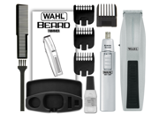 Wahl 5537 420 Wahl wireless men s beard trimmer and ear nose trimmer