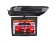 """POWER ACOUSTIK PMD-112CMX 11.2"""" WIDESCREEN CEILING-MOUNT MONITOR WITH DVD PLAYER & INTERCHANGEABLE SKINS"""