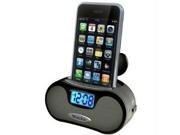 Westclox 81003 Clo Alarm Clock W- Wmp3 Speakers