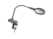 Carson MagniFly LED Lighted Magnifier w/ Table Clamp and Vise Adaptor OD-65