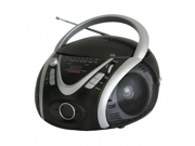 Naxa NPB 246 Portable MP3 CD Player with AM FM Stereo Radio and USB Input