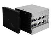 Silverstone Technology CFP52B 5.25 in. to 3.5 in. Bay Convert Hot-Swappable Function - Black