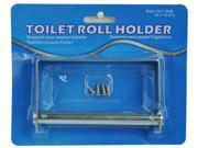 Bulk Buys Metal Toilet Paper Roll Holder - Pack of 8