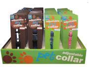 Bulk Buys Dog-Cat-Small Pet Collars - Case of 72
