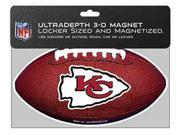 Bulk Buys Kansas City Chiefs 3D Football Magnet - Case of 72 9SIA00Y0Z19085