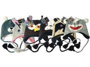 Bulk Buys Knitted Animal Hats - Case of 72