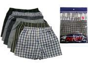 Bulk Buys A-POWER Mens boxer shorts-3x - Case of 72