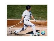 Steiner Sports DAMOPHS016050 Johnny Damon Horizontal Swing Home Jersey 16X20 - MLB Auth