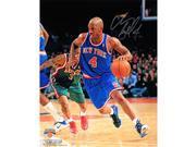 Steiner Sports BILLPHS008003 Chauncey Billups New York Knicks Dribble Up Court Vertical 8x10 Photo