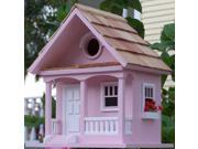 Home Bazaar HBB 1004S Cotton Candy Cottage Birdhouse Cotton Candy