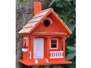 Home Bazaar Tangerine Cottage Birdhouse - Tangerine - HBB-1006S 9SIAD245CX5964