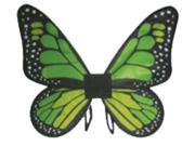 Costumes for all Occasions FW90067GL Wings Butterfly Satin Ch Green 9SIA00Y0Z41018