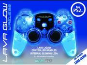 PS2 Blue Lava Glow Mini 2.4GHZ Wireless - DGPN524