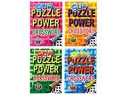 Bulk Buys Super Puzzle Power Crossword - Case of 48