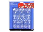 Large set suction cup hooks -set of 17 - Pack of 72 9SIA00Y0Z59041