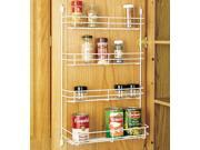 Hardware Distributors RS565.14.52 13 .63 in. Door Storage Wire Spice Rack White