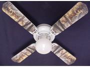 Ceiling Fan Designers 42FAN-ANI-DBDH New DEER BUCK DOE HUNTING Ceiling Fan 42''