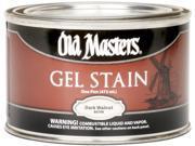 Old Masters 80708 1 Pint Dark Walnut Gel Stain