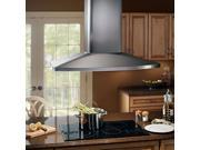 Broan E5490SS 27.6 x 35.4 x 46 Stainless Steel Island Hood with Blower
