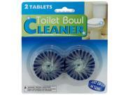 2 pack toilet bowl cleaner tablets - Case of 96
