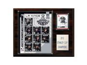 C & I Collectables 1215SC12 NHL 12 X 15 Los Angeles Kings 2011-2012 Stanley Cup Champions Plaque 9SIA00Y0Z77798