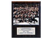 C & I Collectables 1215SC12C NHL 12 X 15 Los Angeles Kings 2011-2012 Stanley Cup Celebration Champions Plaque 9SIA00Y0Z77889