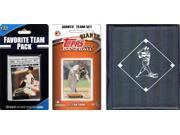 C & I Collectables 2012SFGTSC MLB San Francisco Giants Licensed 2012 Topps Team Set and Favorite Player Trading Cards Plus Storage Album 9SIA62V4SF2398